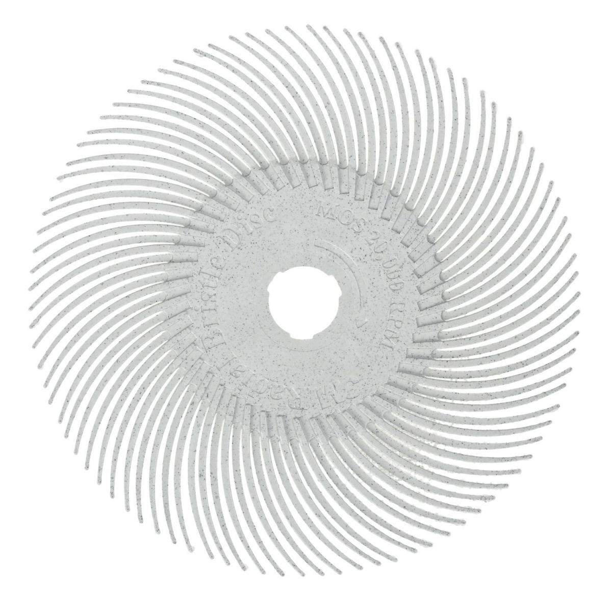 3m radial bristle disc wit p120 761mm30127