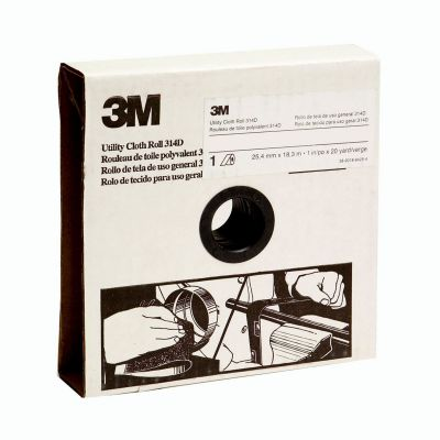 3M™ Schuurlinnen op rol 314D, 50 mm x 25 m, P80 62886