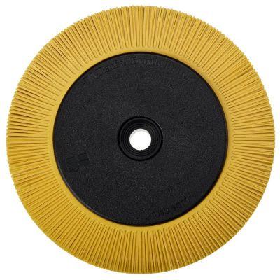 3M™ Scotch-Brite™ Radial Bristle Borstel BB-ZB met adapter, TS, geel, Ø 203 mm x 25 mm x 32 mm, P80, 33082
