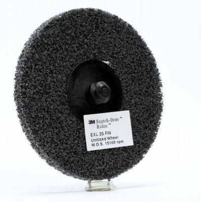 3M™ Scotch-Brite™ Roloc™ EXL Unitised Wiel XL-DR, 76 mm x 6 mm, 2S FIN, PN17184 17184