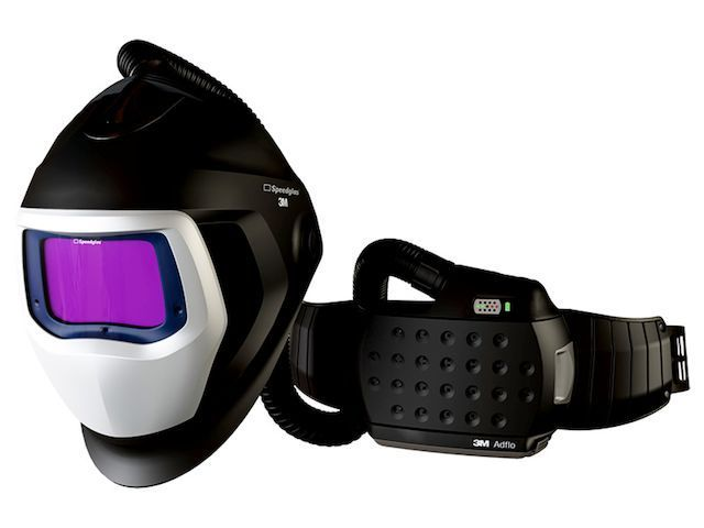 3m speedglas 9100 air laskapsw met speedglas lasfilter x adflo opbergtas 790101