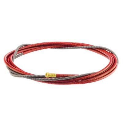 Binzel binnenspiraal MB25 rood 3mtr 1.0-1.2mm 324P204534