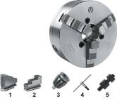 bison din 55027 zelfcentrerende drieklauwplaat staal type 3534 din 55027 c4 160 mm