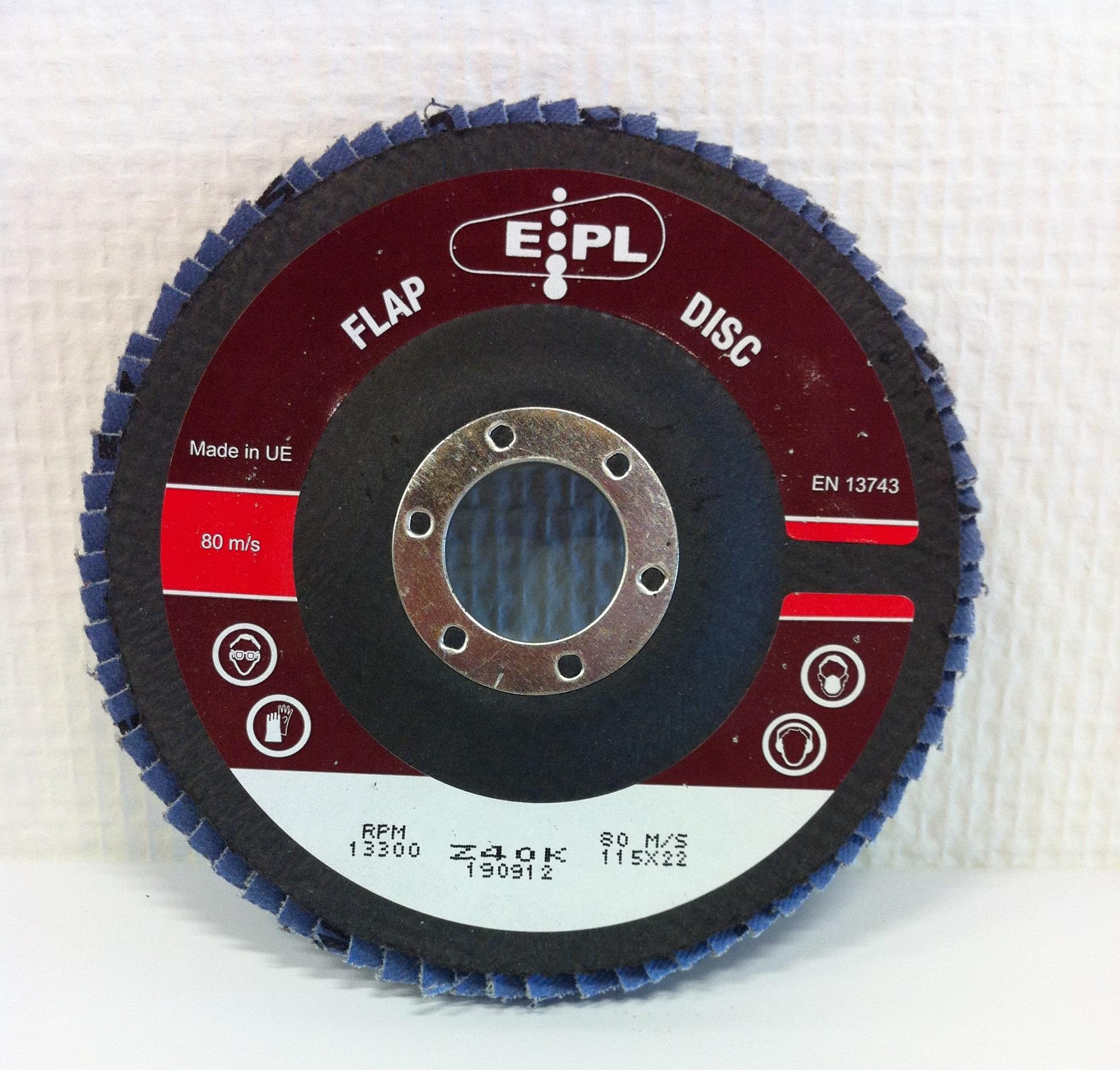 epl conische lamschijf 115 mm z 40
