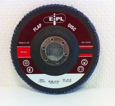 EPL conische lam.schijf 115 mm - Z 60 EPL115Z60