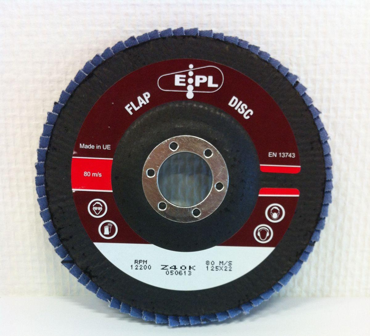 epl conische lamschijf 125 mm z 40