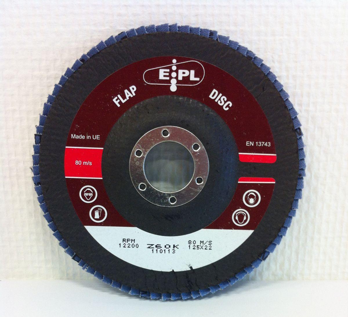 epl conische lamschijf 125 mm z 60