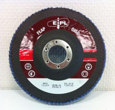 EPL Vlak Lam.Schijf 125 mm P60 EPL125Z60V