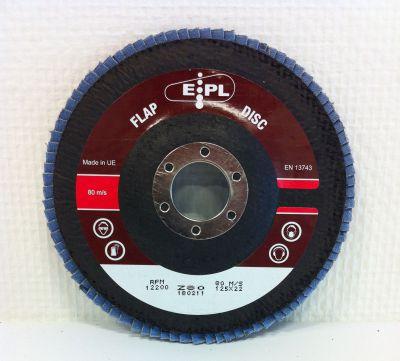 EPL vlak lam.schijf 125 mm P80 EPL125Z80V