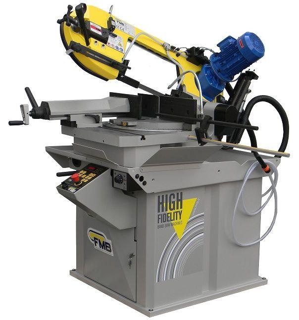 fmb calipso halfautomatische lintzaagmachine met manuele snelspanklem