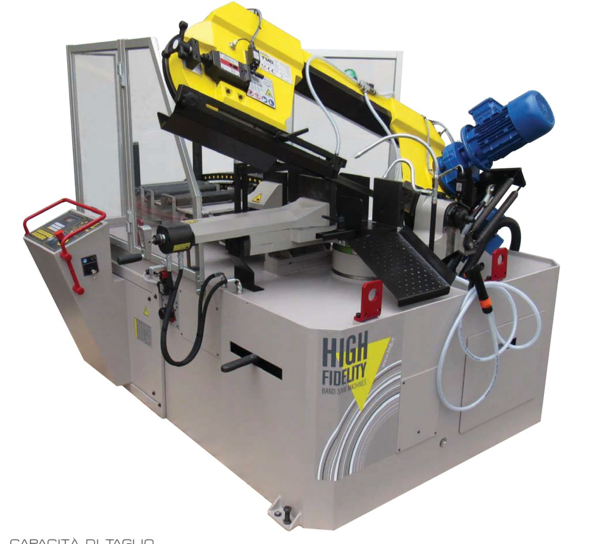 fmb jupiter vhz vol automatische lintzaagmachine