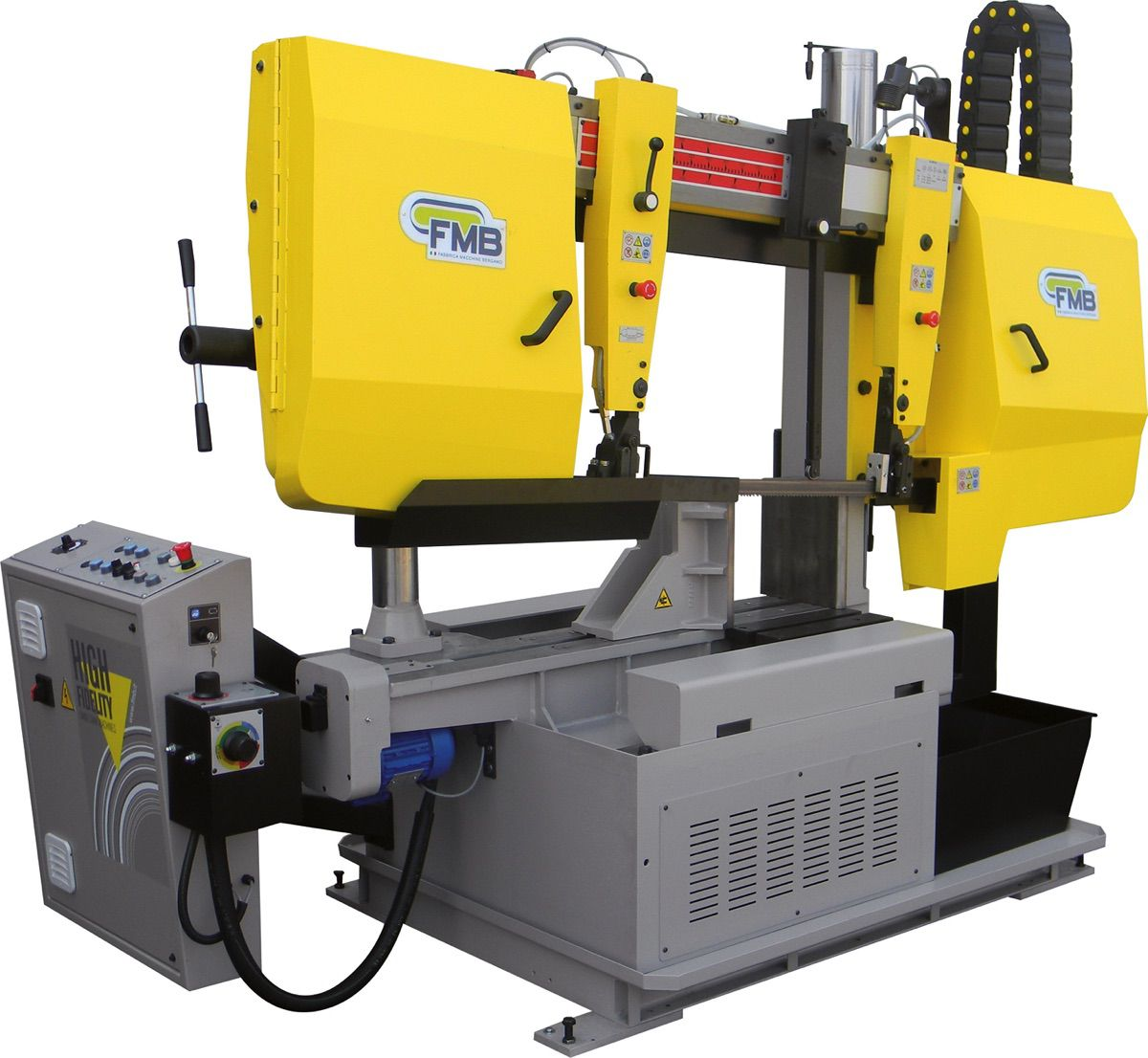 fmb olimpus 2 halfautomatische lintzaagmachine