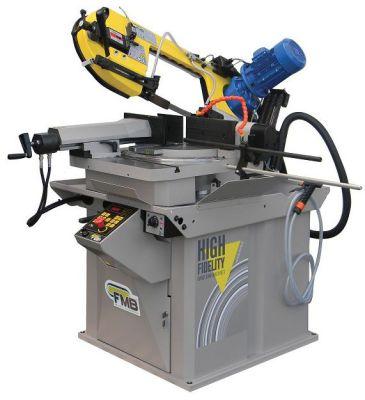 FMB OMEGA half automatische lintzaagmachine + Microdoseersysteem OMEGA+NB1