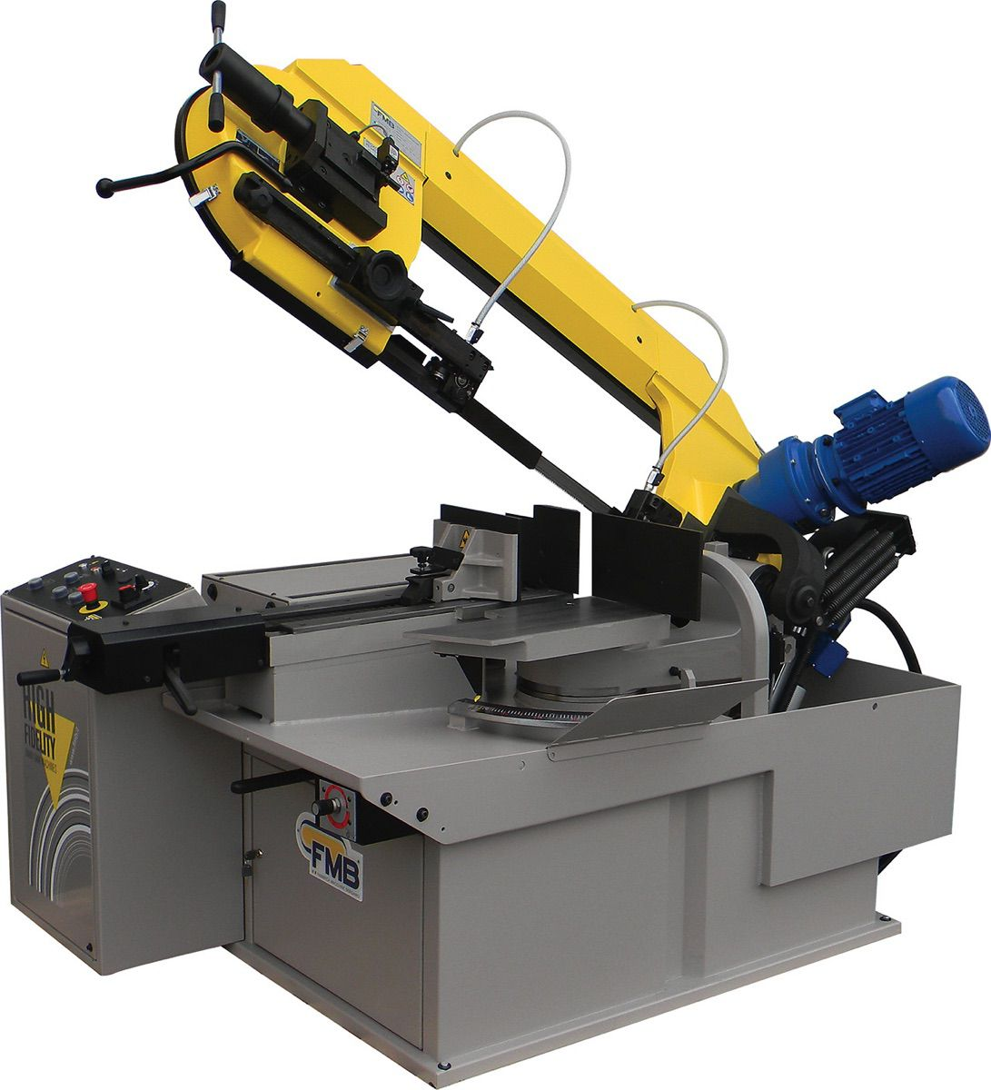 fmb pegasus gvhz handautomatische lintzaagmachine met zakcilinder