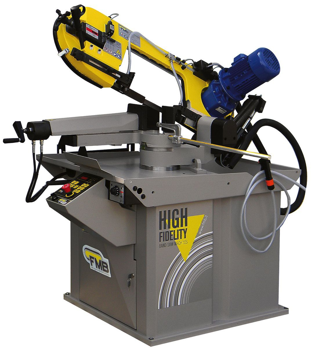 fmb sirius half automatische lintzaagmachine