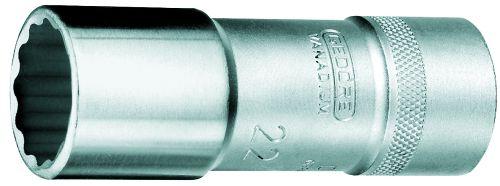 gedore dopsleutel 12 lang udprofiel 22 mm d 19 l 22