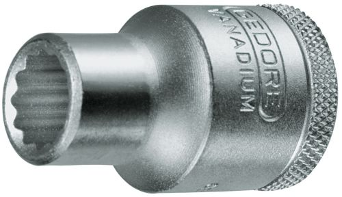 gedore dopsleutel 12 udprofiel 30 mm