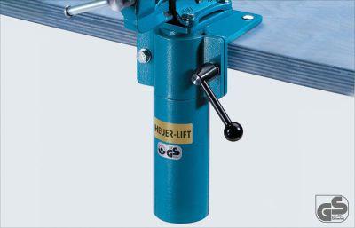 Hoogteversteller HEUER Lift voor bekb. 140 mm 360 graden draaibaar HEUER 104240