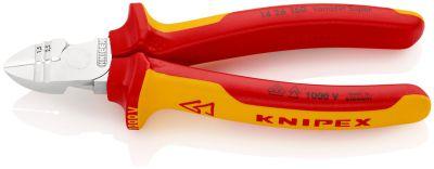 KNIPEX Afstrip-zijsnijtang VDE 1426160