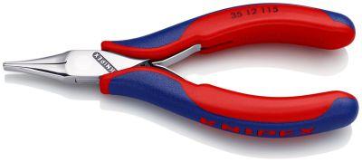 KNIPEX Grijptang platte bek 115 mm 3512115
