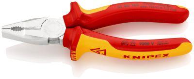 KNIPEX Kombi-tang chroom vanadium 160 mm VDE 0106160