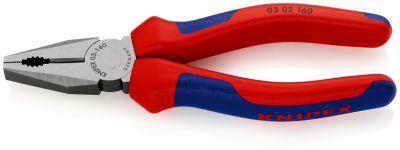 KNIPEX Kombi-tang gepolijst/comfort 160 mm 0302160