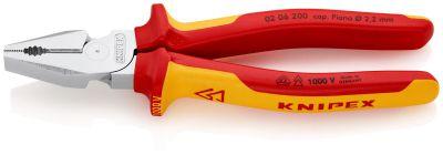 KNIPEX Kracht-Kombitang comfort 200 mm VDE 0206200
