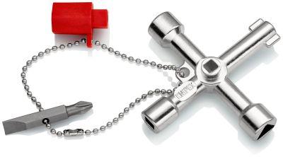 KNIPEX Kruisdopsleutel 5/6/8/9 mm lengte 76 mm 001103