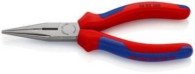 KNIPEX Radiotang recht + zijsnijder 160 mm 25 02 160 2502160