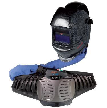 Multi vision lashelm Carbon 3/9-13 met Multi C'Air verse lucht motor 495880105