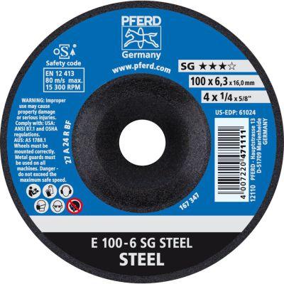 PFERD AFBRAAMSCHIJF E 100-6 PSF STEEL/16 62010634