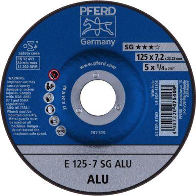 PFERD AFBRAAMSCHIJF E 125-7 A 24 N SG ALU 62212622