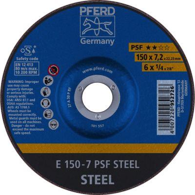 PFERD AFBRAAMSCHIJF E 150-7 PSF STEEL 62015628
