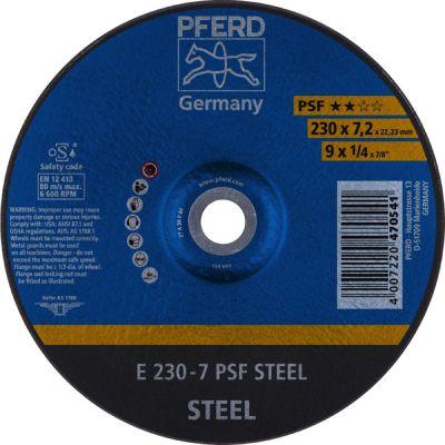 PFERD AFBRAAMSCHIJF E 230-7 PSF STEELOX 62023640