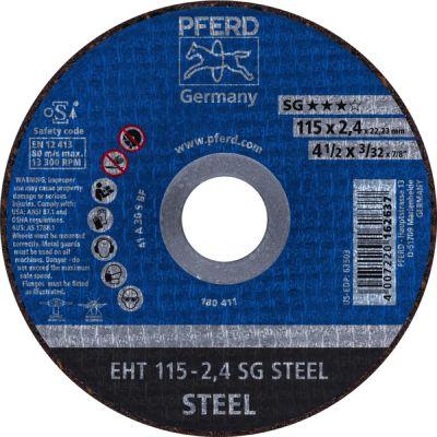 PFERD DOORSL.SCHIJF EH 100-2,4 PSF STEEL/16 61739116