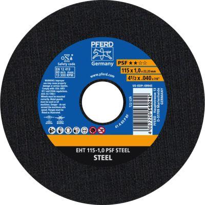 PFERD DOORSL.SCHIJF EHT 115-1,0 PSF STEEL 61730010