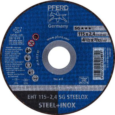 PFERD DOORSL.SCHIJF EHT 115-2,4 SG STEELOX 61340432