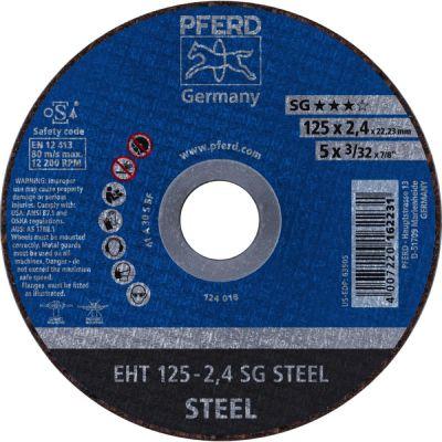 PFERD DOORSL.SCHIJF EHT 125-2,4 PSF STEEL 61719026