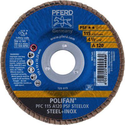 PFERD LAMELLENSCHIJF POLIFAN PFC 115 Z120 PSF STEELOX 67769115