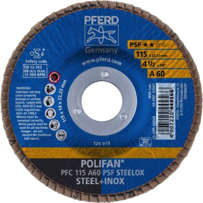 PFERD POLIFAN PFC 115 A 60 PSF 67746115
