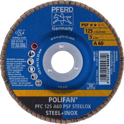 PFERD POLIFAN PFC 125 A 60 PSF 67746125