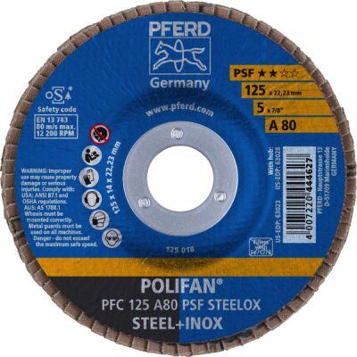 PFERD POLIFAN PFC 125 A 80 PSF 67748125