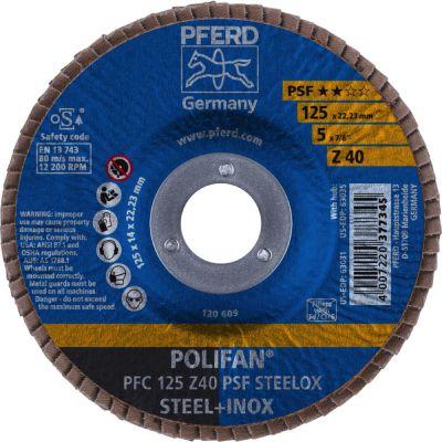 PFERD POLIFAN PFC 125 Z 40 PSF 67764125