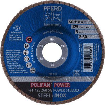 PFERD POLIFAN PFF 125 Z 60 SG 67686125