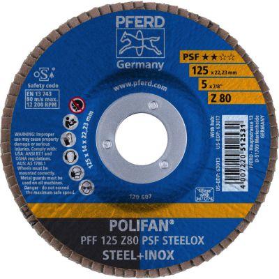 PFERD POLIFAN PFF 125 Z 80 PSF 67668125