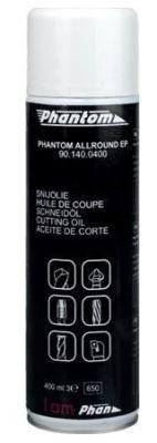 Phantom Allround Snijolie spray EP (Extreme Pressure), chloor- en silicoonvrij, op plantaardige basi 901400400