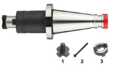 Phantom DIN 6358 Combi-Opsteekfreeshouder voor frezen met langs- en dwarsspiebaan, SK volgens DIN 20 823233022