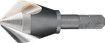 """Phantom HSS-E Verzinkboor 90°, 3 snijkanten, met 1/4""""-zeskant bitopname 16,5mm 425451650"""