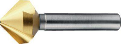 Phantom HSS-E Verzinkboor DIN 335-C 90°, TiN, 3 snijkanten 25mm 425412500