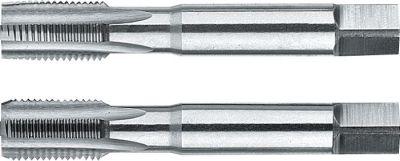 "Phantom HSS Handtappen ISO 529 BSP (Gasdraad), set à 2 stuks 1/4""-19 214001316"